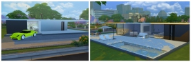 Luxury One Story House