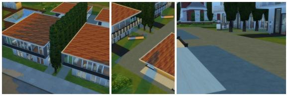 Modern Apartment Blocks