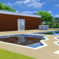 Outdoor Area + Jacuzzi and Pool