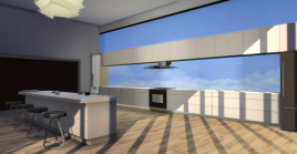 Semi-Open Concept Kitchen
