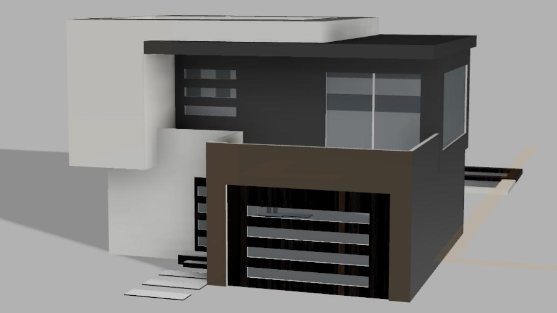 Small Modern Home – Autodesk Fusion HouseBuild