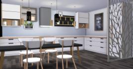 Kitchen + Dining Room